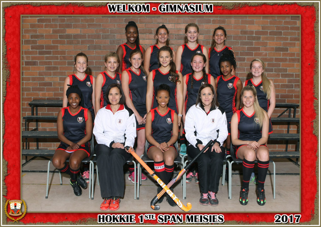 Girls First Team Hockey - Welkom Gimnasium